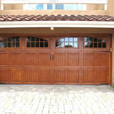 Mediterranean Garage Doors And Openers by Dyer's Garage Doors