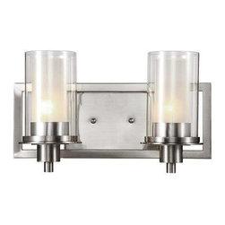 Trans Globe Lighting - Trans Globe Lighting 20042 Wall Sconce In Brushed Nickel - Part Number: 20042