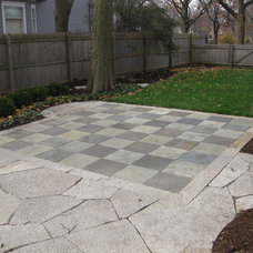 Traditional Patio by Green Grass, Inc.
