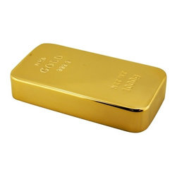 Kito - 3 1/2 Inch Shiny Laucer Finish Gold Bar Design Paperweight - This gorgeous 3 1/2 Inch Shiny Laucer Finish Gold Bar Design Paperweight has the finest details and highest quality you will find anywhere! 3 1/2 Inch Shiny Laucer Finish Gold Bar Design Paperweight is truly remarkable.