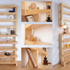 Contemporary Display And Wall Shelves  by TimberBrick