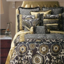 Jennifer Taylor Espresso Comforter Duvet Set Wake Up To