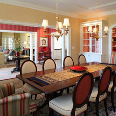 Traditional Dining Room by Melville Thomas Architects, Inc.