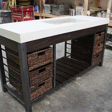 Modern Bathroom Vanities And Sink Consoles by Work Shop Denver