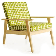 Modern Armchairs And Accent Chairs by bark furniture