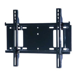 "Peerless - Peerless 23""-46"" Universal Flat Wall Mount - Create a sleek and stylish flat panel installation with this easy to install low-profile flat wall mount. Its design is simple and intuitive to use, just attach the wall plate, attach the screen adapters to the flat panel and hook onto the wall plate, done Universal mount accommodates screens with mounting hole patterns up to 17.25"" W x 12.94"" H