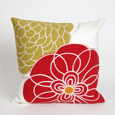 Contemporary Outdoor Pillows by Overstock.com