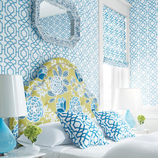 Modern Wallpaper by Factory Paint & Decorating