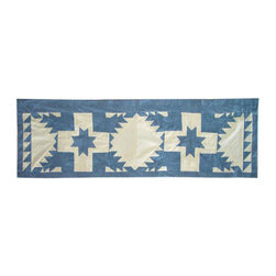 Patch Quilts - Feathered Star Curtain Valance 54 x 16 - - Beautiful patchwork Valance.Window Treatments for ensemble and Bedding items from Patch Magic  - Machine washable.Line or Flat dry only Patch Quilts - CVFEST