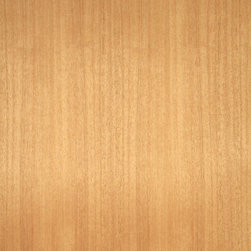 Quartered Khaya Veneer - Quartered Khaya veneer is a nice pinkish brown to reddish brown medium grain wood with excellent staining and finishing qualities. It is often used in place of Honduras mahogany. Available in a variety of backers and sizes.