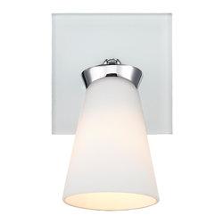 Iberlamp by Golden Lighting - Lighting C024-01-CH 1 Light Bath Vanity (Spotlight)Opera Collection - 1 Light Bath Vanity (Spotlight)