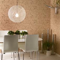 Contemporary Wallpaper by Innobo Inc