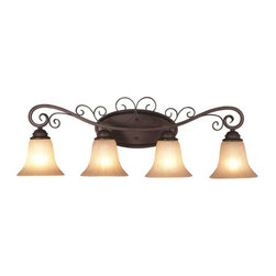 Trans Globe Lighting - Trans Globe Lighting 21044 ROB Bathroom Light In Rubbed Oil Bronze - Part Number: 21044 ROB