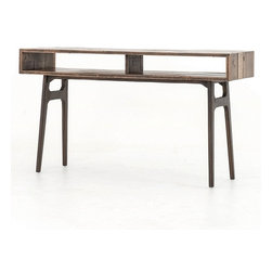 Wesson Reclaimed Oak Wood Console Table -