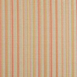 Red Green And Beige Stripe Upholstery Jacquard Fabric By The Yard - This multipurpose fabric is great for residential upholstery, slipcovers and pillows. This material is woven for enhanced elegance, and will exceed 35,000 double rubs (15,000 is considered heavy duty)