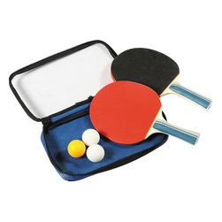 Blue Wave - Blue Wave 2 Tabletennis Rackets & 3 Balls - Game Table 1