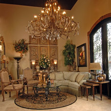 Traditional Living Room by D'Hierro Hand Forged Iron
