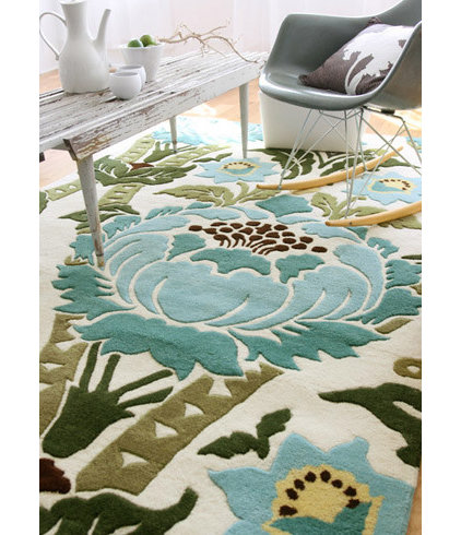 tropical kids rugs by Layla Grayce