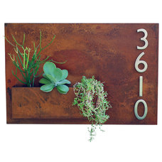 Eclectic House Numbers by Urban Mettle