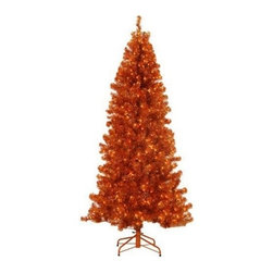Paradise Copper Tinsel Tree - A LUXURIOUS LOOK FOR THE SEASON WITH THE PARADISE COPPER TINSEL TREE