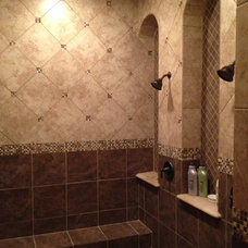Traditional Bathroom by River Hills Custom Homes