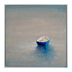 Bassett Mirror Company - Bassett Mirror Company Summer Solitude Hand-Painted Canvas - Summer Solitude Hand-Painted Canvas by Bassett Mirror Company Hand-Painted Canvas (1)