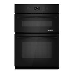 """Jenn-Air 30"""" Combination Microwave/wall Oven, Black On Black 