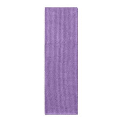 "Garland Rug - Bath Mat: Accent Rug: Sheridan Purple 22"" x 60"" Bathroom - Shop for Flooring at The Home Depot. Beautify your bathroom and make your feet happy with Sheridan Bath Rugs. These rugs will compliment any bathroom decor. The distinctive stripe pattern gives a modern, but yet traditional sleek design. Sheridan is made with 100% Nylon for superior softness and colorfastness. Proudly made in the USA."