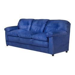 Chelsea Home Furniture - Chelsea Home Lisa Sofa in Cobalt Blue - Lisa sofa in cobalt blue belongs to Triad collection by Chelsea Home Furniture
