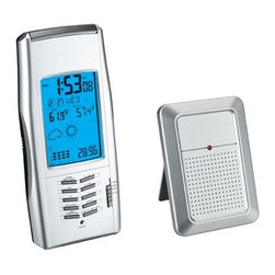 Kito - Radio Controlled Weather Tracker Alarm Clock, with Light Background - This gorgeous Radio Controlled Weather Tracker Alarm Clock, with Light Background has the finest details and highest quality you will find anywhere! Radio Controlled Weather Tracker Alarm Clock, with Light Background is truly remarkable.