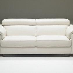 Natuzzi Editions Contemporary Leather Sofa B685 -