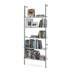 "ISS Designs - PAL33 33"" Pole Mounted Aluminum Shelving, White - *See 2nd image for color."