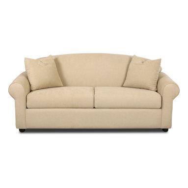 Savvy - Chicago Full Sleeper Sofa, Fastlane Oatmeal, Full Sleeper, Dreamsleeper Mattress - Chicago Full Sleeper Sofa in Fastlane Oatmeal
