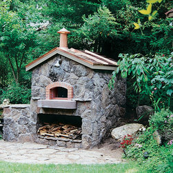 Mugnaini Wood Fired Ovens - Mugnaini Outdoor Wood Fired Ovens - Pizza Oven - Find the perfect outdoor oven for your backyard, garden, poolside or patio. Mugnaini outdoor pizza ovens are the ideal centerpiece for alfresco dining and entertaining. Pick from a variety of shapes and sizes, and create the ultimate open-air kitchen with a Mugnaini wood fired oven. www.mugnaini.com