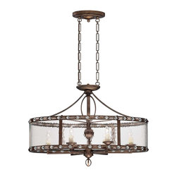 Savoy House - Paragon 6 Light Trestle - Paragon Is An Exciting Bejeweled Collection By Brian Thomas. This Head Turning Group Is Stunning , With A Rich Gilded Bronze Finish That Glistens Against Water Glass And Faceted Cystals.