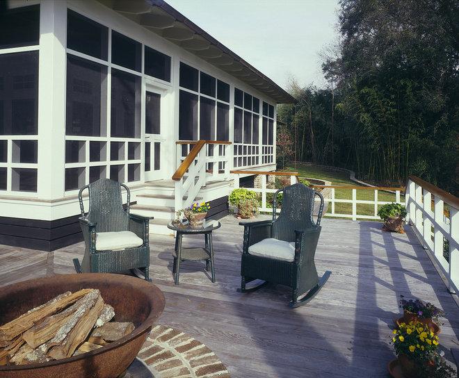 Farmhouse Porch by Frederick + Frederick Architects