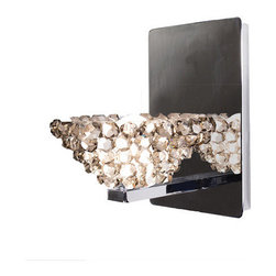 WAC Lighting - WAC Lighting WS58-G543 Giselle Crystal Bead Shade Halogen Wall Sconce - Features: