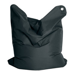 Sitting Bull USA - Sitting Bull The Bull Anthracite Bean Bag - This awesome large beanbag may be used as a chair,mat or small mattress. This unique seating solution is perfect for your child to have their own space.
