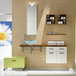 "Castillo - Modern Bathroom Vanity 51"" - The Castillo is a modern bathroom vanity set that embraces the latest trend in luxury modern bathroom design."