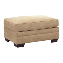 Klaussner Furniture Industries - Klaussner Holly Ottoman - Bronze - 12013110553 - Shop for Ottoman & Footstools from Hayneedle.com! Give your feet a treat with the Klaussner Holly Ottoman - Bronze. Perfect for feet this ottoman also works as additional seating thanks to its plush cushioning and soft upholstery. Durably crafted of select hardwoods for lasting longevity.