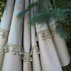 Modern Christmas Tree Skirts by Etsy