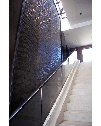 Modern Indoor Fountains by Water Studio