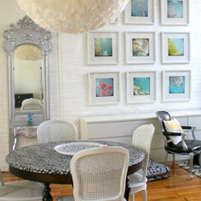 Eclectic Dining Room by Nichole Loiacono Design
