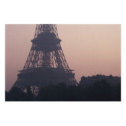 Custom Photo Factory - Eiffel Tower in Paris, France Canvas Wall Art - Eiffel Tower in Paris, France  Size: 20 Inches x 30 Inches . Ready to Hang on 1.5 Inch Thick Wooden Frame. 30 Day Money Back Guarantee. Made in America-Los Angeles, CA. High Quality, Archival Museum Grade Canvas. Will last 150 Plus Years Without Fading. High quality canvas art print using archival inks and museum grade canvas. Archival quality canvas print will last over 150 years without fading. Canvas reproduction comes in different sizes. Gallery-wrapped style: the entire print is wrapped around 1.5 inch thick wooden frame. We use the highest quality pine wood available. By purchasing this canvas art photo, you agree it's for personal use only and it's not for republication, re-transmission, reproduction or other use.