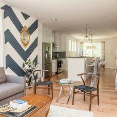 Contemporary Living Room by Sarah Natsumi Moore