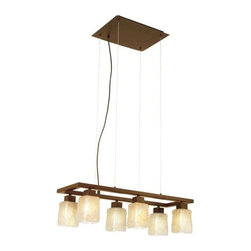 Eglo - Eglo 89145 6 Light Norwich Pendant - Inspirational and Sleek Norwich family collection brings a new element into a timeless design. Norwich collection brings the brilliant features below:Features: