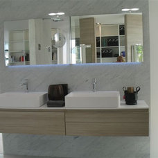 Bathroom Vanities And Sink Consoles by SEE MATERIALS INC.
