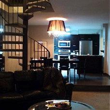 Contemporary Living Room by Glenat Duxbury Interior Design