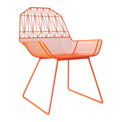 Farm House Lounge Chair, Orange