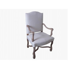 traditional dining chairs and benches by Elte